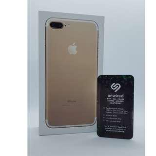 Apple iPhone 7 Plus, Gold (32GB) - Factory Unlocked With Warranty