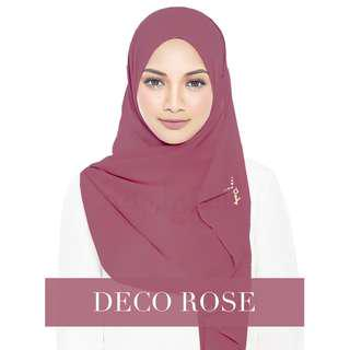 AUTHENTIC Miss Charm Naelofar in Deco Rose