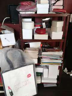 Pandora jewelry boxes and totes