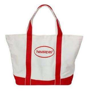 Havaianas Carryall Tote bag - red x canvas