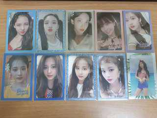 TWICE DTNA PHOTOCARDS