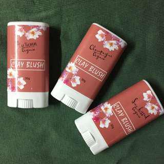 BIG SALE Clay Blush Organics