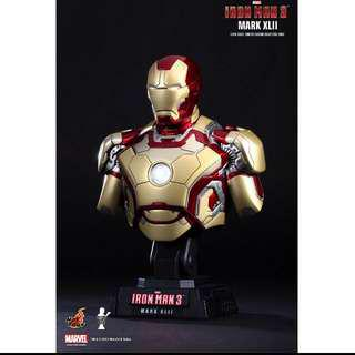 Mk 42 Bust 1/4 Scale ironman iron man Hot toys