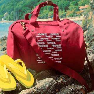 Havaianas Getaway Duffle Bag - Red