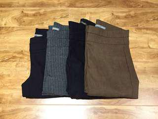 Smartset Dress Pants Skinny Set - Size 4