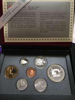 1988 Canadian coins collection