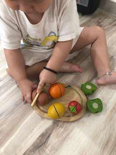 Plantoy High quality Fruits cutting toy
