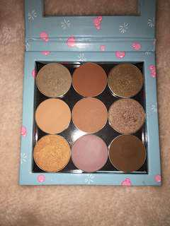 Make up geek with z palette
