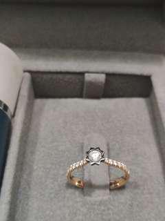 Goldheart Celestial Ring
