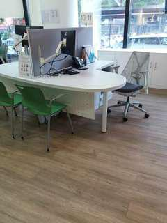 Table office ikes with partition