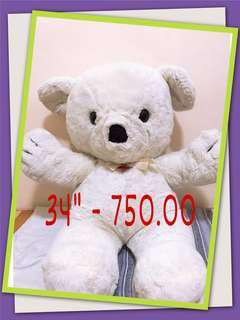 Teddy bear 34""