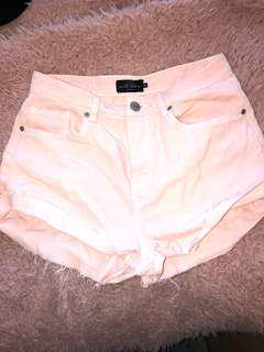 Factory pink shorts