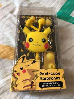 Pikachu earphone