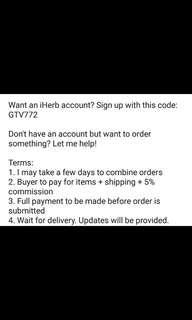 iHerb purchase service