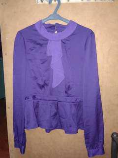 Blouse (purple)
