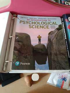 An Introduction to Psychological Science (2nd edition) (Looseleaf)