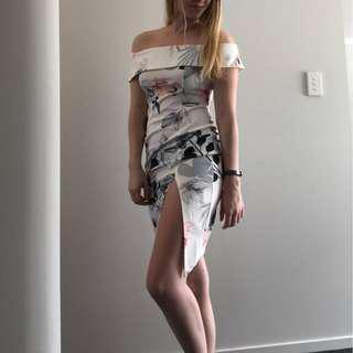 Chiffon boutique dress NWT