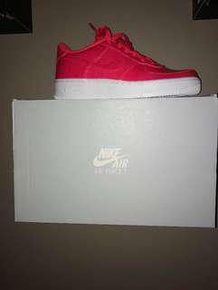 Pink nike Air Force 1s (READ DESCRIPTION)