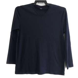 UNIQLO Soft Touch V-Neck (2pcs)