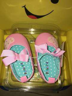 Brandnew Pitterpat Pink Baby Shoes