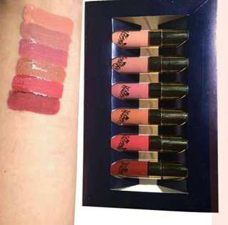 matte lipstick 6pcs set