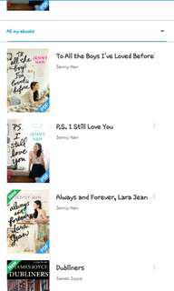 To all the boys ive loved before trilogy( pdf)