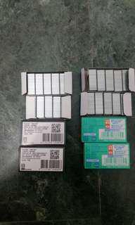 全新 訂書針 STAPLES 美客司 手牌SDI 10號訂書針 NO.1200B 4/盒