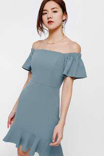 Love Bonito Haylia Off Shoulder Dress