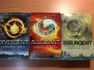 Divergent series: Divergent + Insurgent +Allegiant