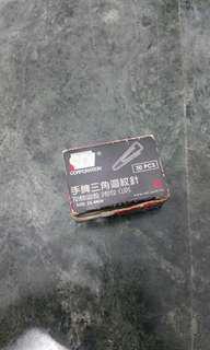 全新 手牌三角迴紋針 size&:25.4mm 49pcs