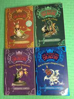 How to train your Dragon book1-4
