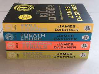 English Novels - The Maze Runner Set