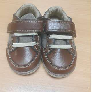 Pre-loved Baby Boy Leather Shoes (Size 21)