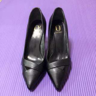 🚚 DAP HEN 達芙妮 全新真皮包鞋 OL鞋 上班鞋