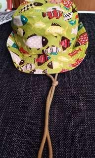 🚚 二手兒童牛仔帽,帽圍52公分