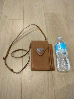 Dainty Brown Crossbody Shoulder Bag