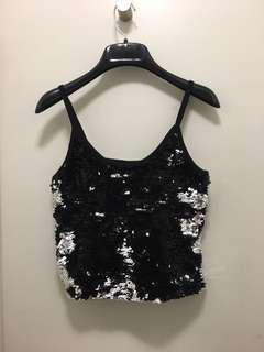 Party tank top from honey sz s