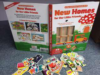 New Homes for our Little Friends Magnetic Play