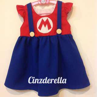 Brand New Super Mario Girls Dress