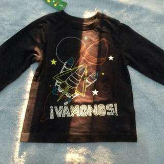 Tshirt anak import