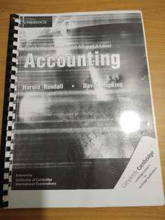 GCE A Level Accounting Textbook