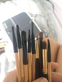 Eye & Face makeup brushes & Cases