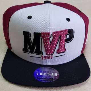 Authentic Air Jordan Retro 6 MVP 1991 Cap 686951 White Maroon Black Adult/Unisex