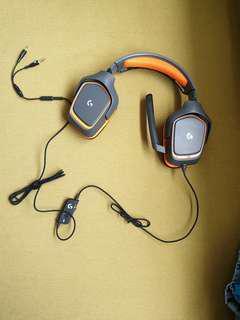 G231 logitech gaming headset