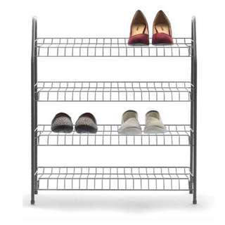4-Tier Metal Shoe Rack