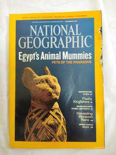 National Geographic November 2009