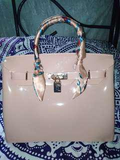 Beachkin Hermes Style in Nude Color