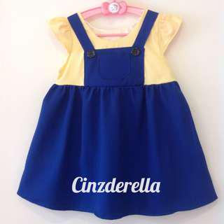 Brand New Despicable Me Minions Girls Dress