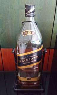 4.5 litre Johnnie Walker Black Label display