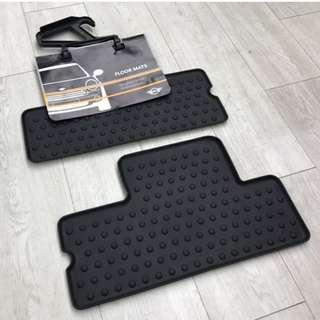 Mini Cooper All Weather Rear Floor Mat (*MAY NOT FIT PERFECTLY*)